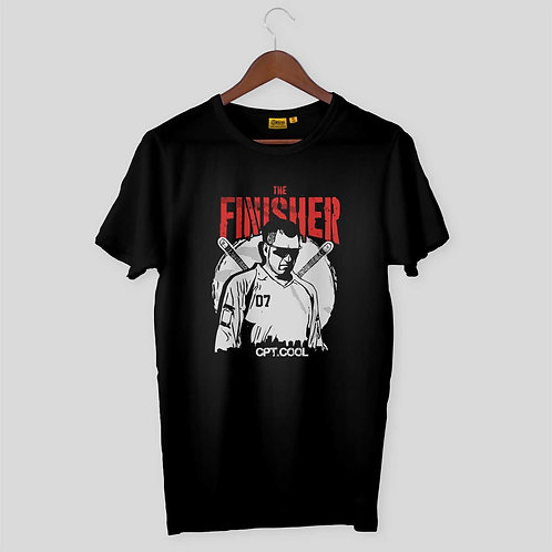 Dhoni The Finisher Mens-H-S Crew Neck