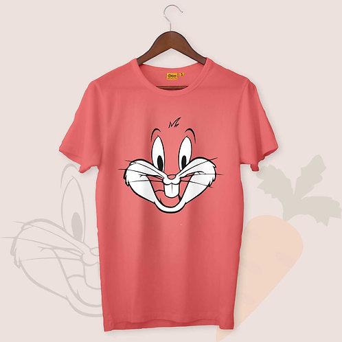 Bugs Bunny Mens-H-S Crew Neck