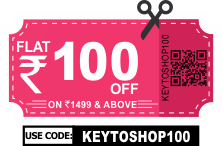 Shop above 1499 and avil flat 100 Rs on your total value T&C Apply