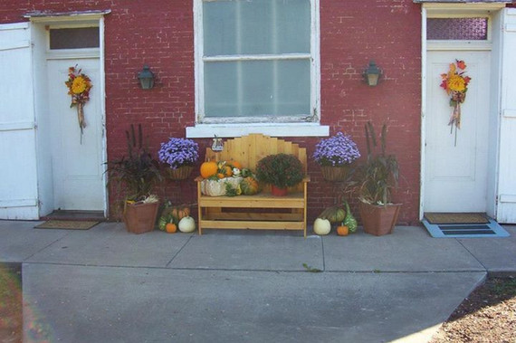 Zion Church fall ecorations 2015