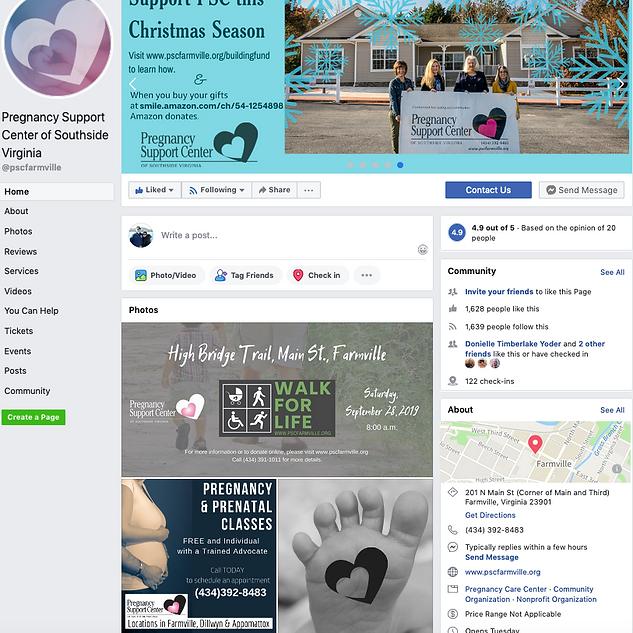 PSC Facebook posts