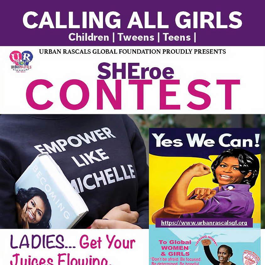 WHO IS YOUR SHEroe?