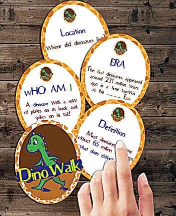 DinoWalk: Literature Narrative
