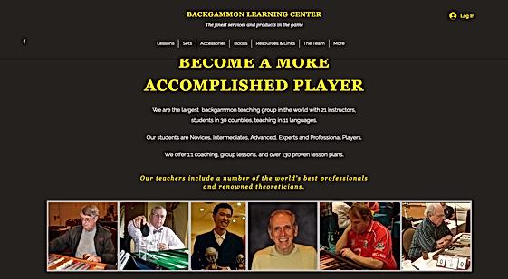 Backgammon Learning Center