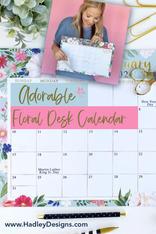 HD Pinterst Desk Calendar