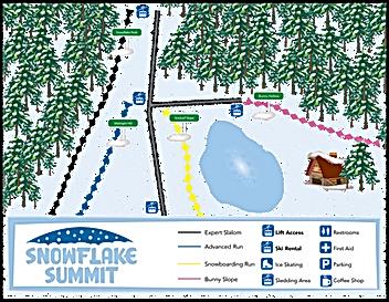 Info Key Map Graphic