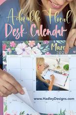 HD Desk Calendar