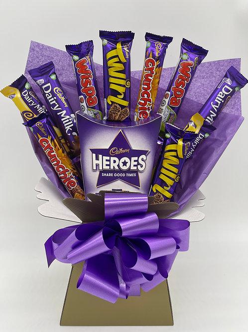 Cadbury's Heroes Bouquet - Medium
