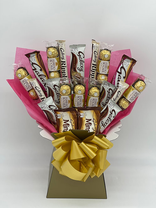 Luxury Ferrero Rocher & Galaxy Bouquet