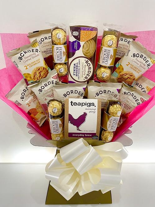 Premium Tea, Biscuits & Ferrero Rocher Deluxe