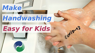 教小朋友洗手,簡單有趣