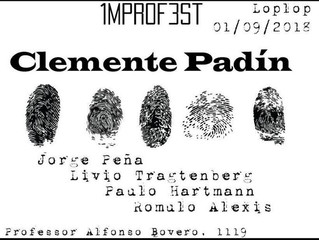 Improfest 2018 na Loplop Livros com Clemente Padín