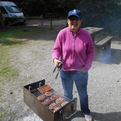 BBQ at Cardinham Woods
