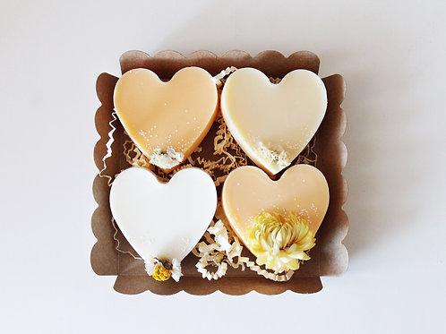 box big love - holliday vue de haut - Ma bougie fleurie