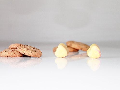 Fondant cookies chocolat - Ma bougie fleurie