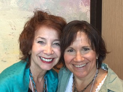 Marcy Newmann and Nancy Rynes