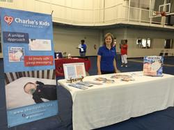 Ruthie at St Stephens Health Fair