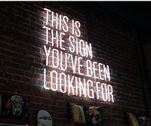This is the sign youve been looking for.
