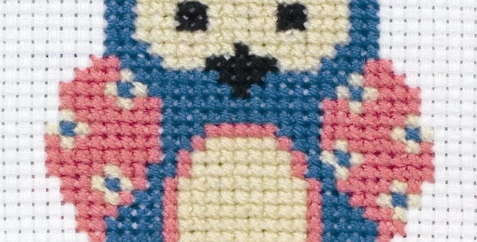 Anchor 1st Kit: Zoe the Owl Cross Stitch Kit