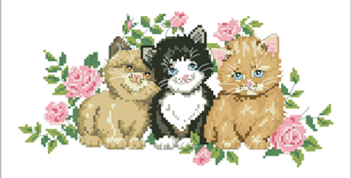 A Trio of Kittens