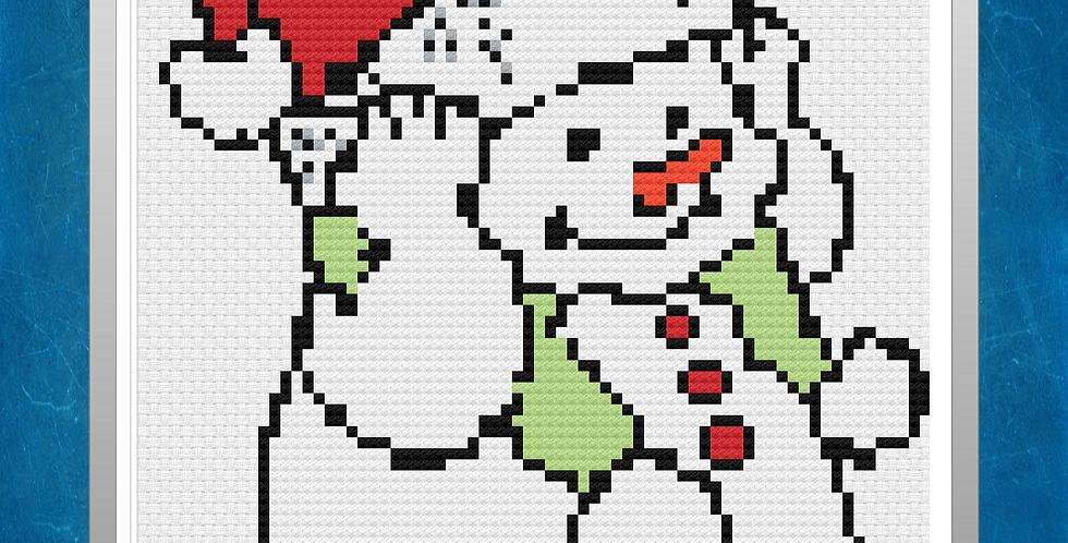 Harvey's Christmas Excitement - 14 CT Cross Stitch Kit