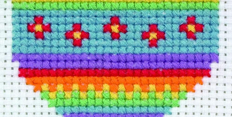 Anchor 1st Kit: Heart Cross Stitch Kit