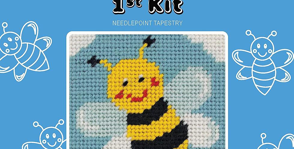 Amazon Anchor 1st Kit: Bee Cross Stitch Kit