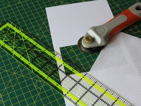 7 Steps to make a Cross Stitch Christmas Card