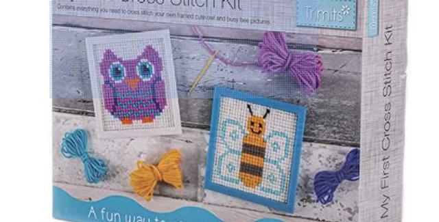 Trimits: My First Cross Stitch Kit