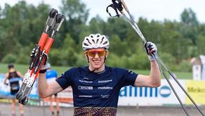 SUKSESS: Norsk rulleskigründer valgt som leverandør til World Cup – 80 par ski fra FF Rollerskis