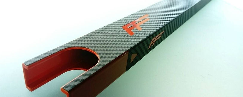 Cool picture of ff skate frame only with carbon finish