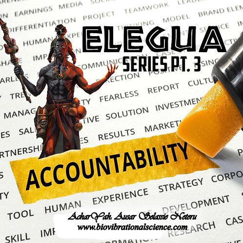 Elegua Series Part 3 Accountability MP3