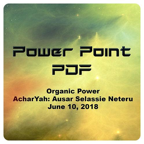 Organic Power PDF