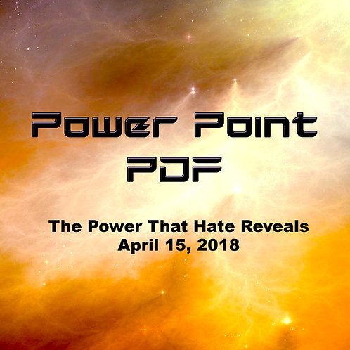 The Power That Hate Reveals PDF