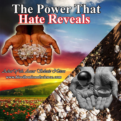 The Power That Hate Reveals April 15, 2018