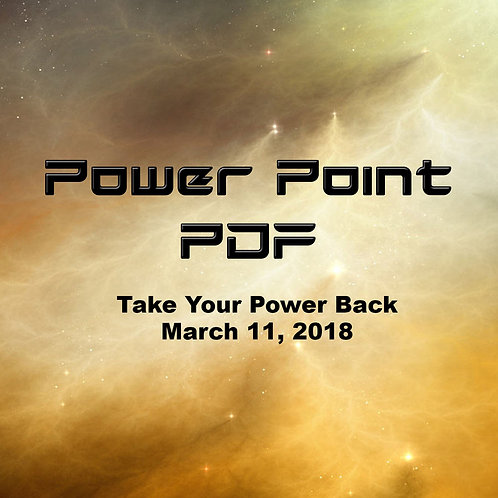 Take Your Power Back Power Point