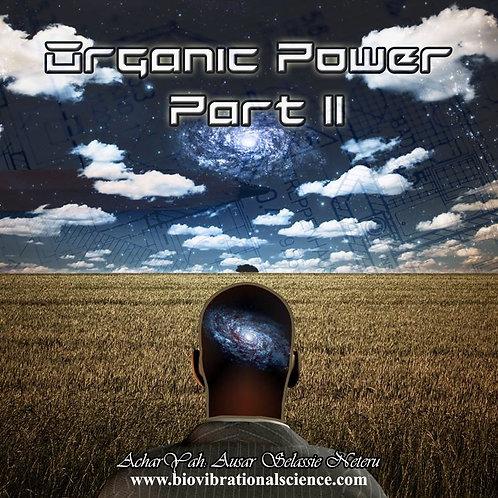 Organic Power Part II MP3