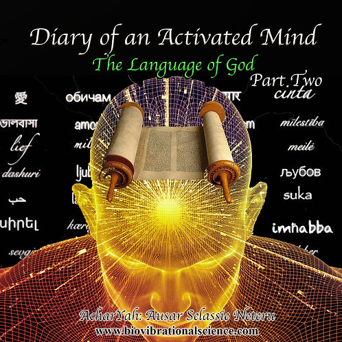 Diary of an Activated Mind Part Two The Language of God MP3