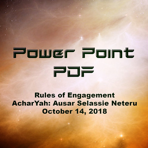 Rules of Engagement PDF