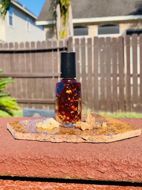 Neteru oil (Frankincense, Myrhh & 24K Gold