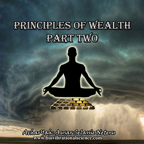 Principles of Wealth Part Two