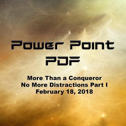 More Than A Conqueror PDF