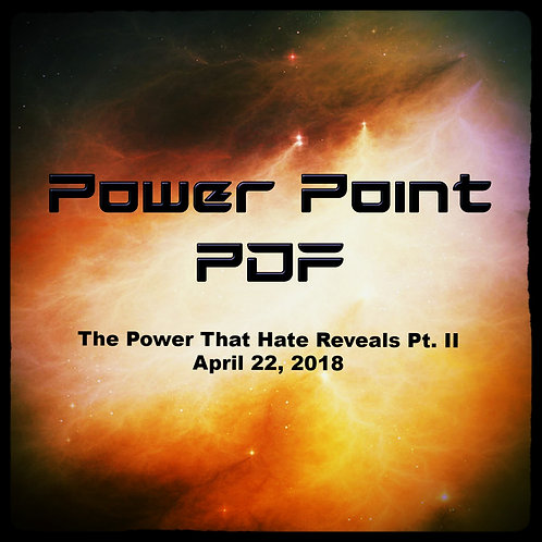The Power That Hate Reveals Part II PDF