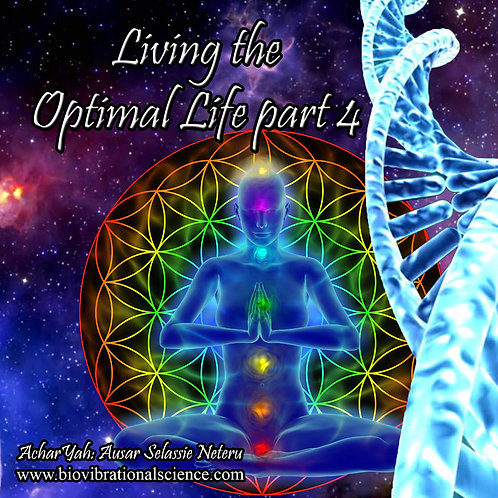 Living the Optimal Life Part 4 MP3