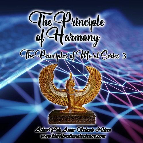 The Principle of Harmony Ma'at Series 3 MP3