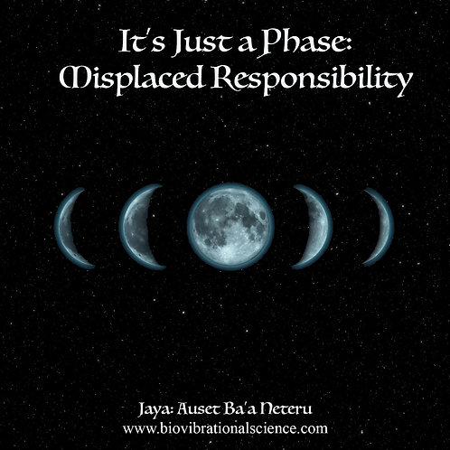 It's Just a Phase: Misplaced Responsibility MP3