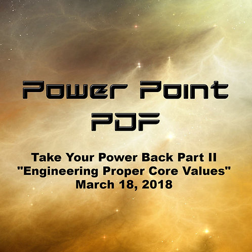 Take Your Power Back Part II