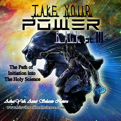 Take Your Power Back Part III March 25, 2018