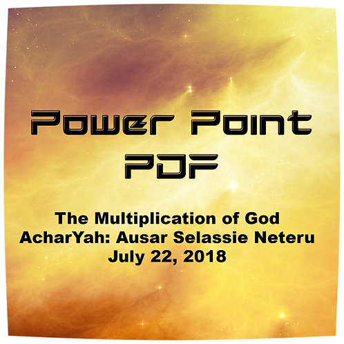 The Multiplication of God PDF
