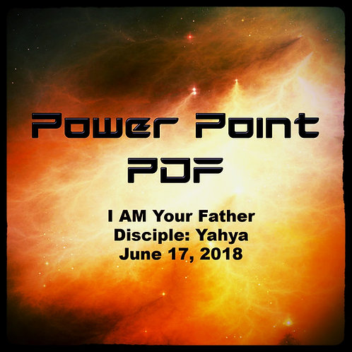I AM Your Father Power Point PDF